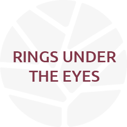 rings under the eyes