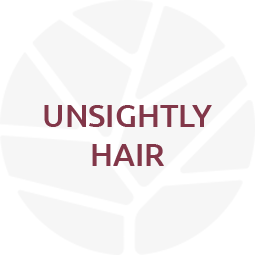 unsightly hair